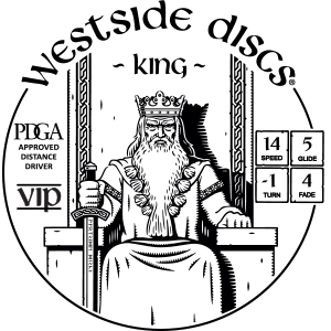 Westside Discs King Stamp