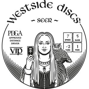 Westside Discs Seer Stamp