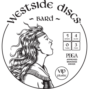 Westside Discs Bard Stamp