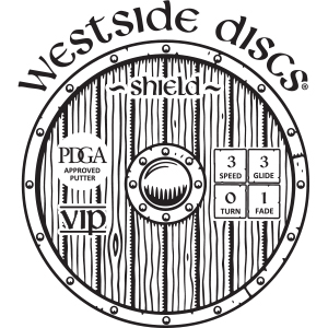 Westside Discs Shield Stamp