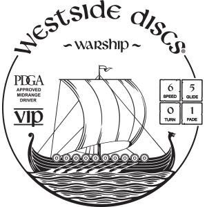 Westside Discs Warship Stamp