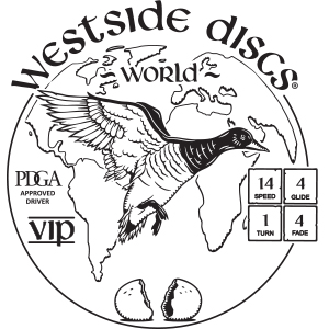 Westside Discs World Stamp