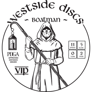 Westside Discs Boatman Stamp