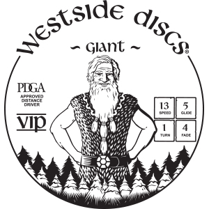 Westside Discs Giant Stamp
