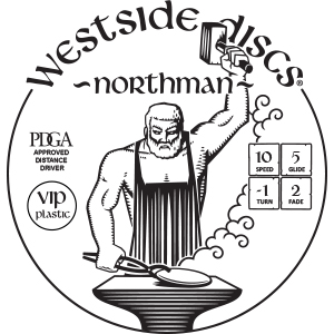 Westside Discs Northman Stamp