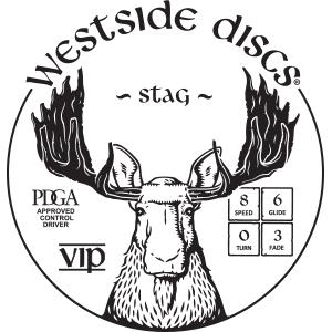 Westside Discs Stag Stamp