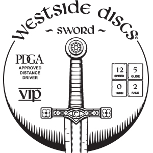 Westside Discs Sword Stamp