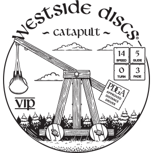 Westside Discs Catapult Stamp