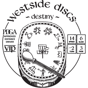 Westside Discs Destiny Stamp