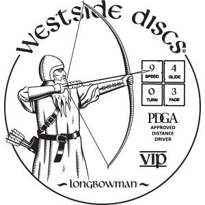 Westside Discs Longbowman Stamp