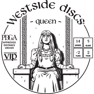 Westside Discs Queen Stamp