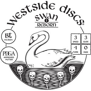 Westside Discs Swan 1 Reborn Stamp