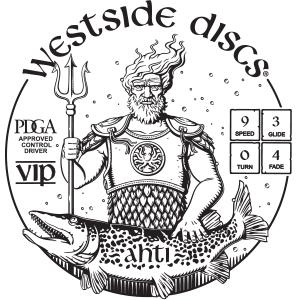 Westside Discs Ahti Stamp