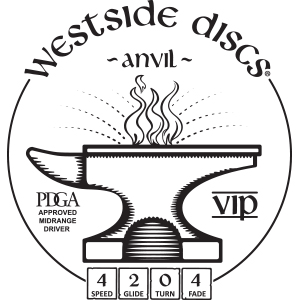 Westside Discs Anvil Stamp