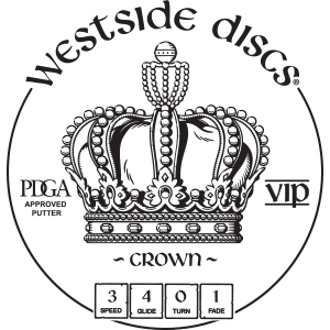 Westside Discs Crown Stamp