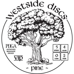 Westside Discs Pine Stamp