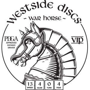 Westside Discs War Horse Stamp