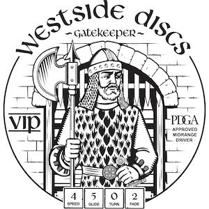 Westside Discs Gatekeeper Stamp