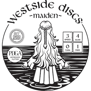 Westside Discs Maiden Stamp